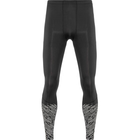 2XU Reflect Leggings de running Homme, black/silver lightbeams reflec